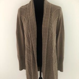 Angel of the North long Open Cardigan sweater M